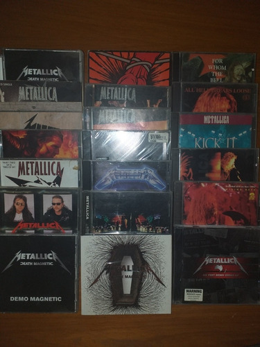 Colección, Mas De 60cd's Originales,metallica Y Otros Rock !
