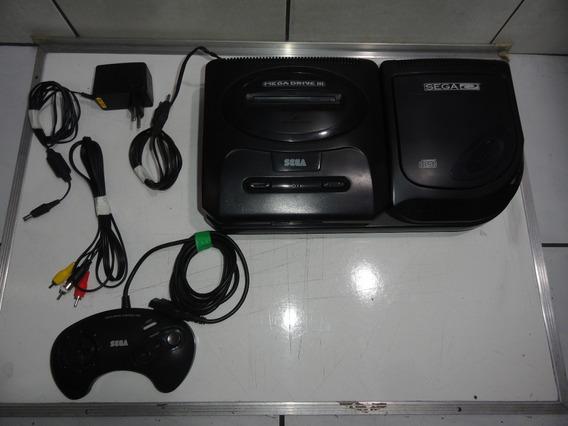 Mega Drive Com Sega Cd Sem Estoque
