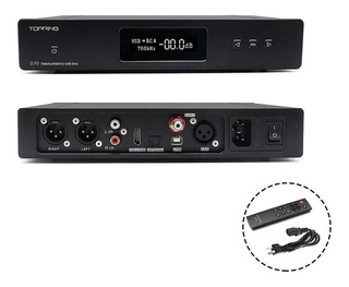Topping Hifi D70 Equilibrado Dac Audio Decoder Xmos Xu208 Ak