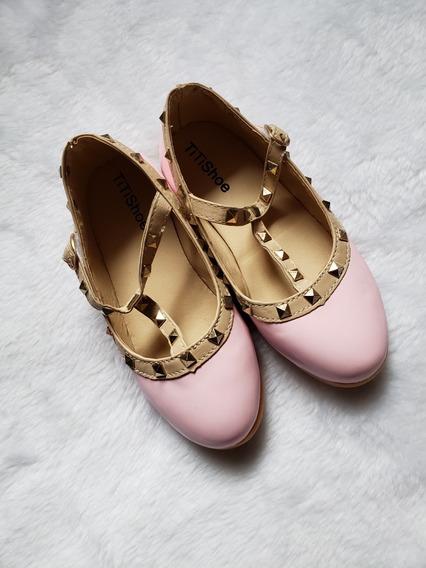 Sapato Infantil De Verniz