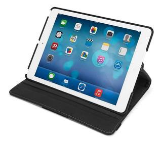 Funda Cuero Giratoria 360° Smart Para iPad Air Pro Mini