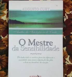 Livro- O Mestre Da Sensibilidade- Augusto Cury- Raro+brinde