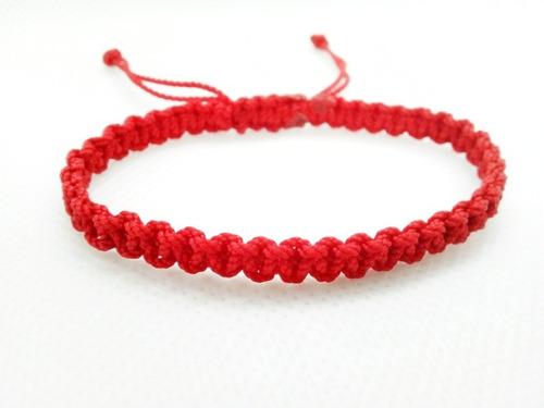 Manilla Pulsera Hilo Rojo Destino Amor Parejas Unión