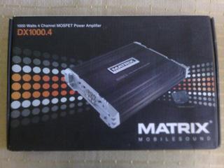 Planta Amplificadora Matrix 1000w