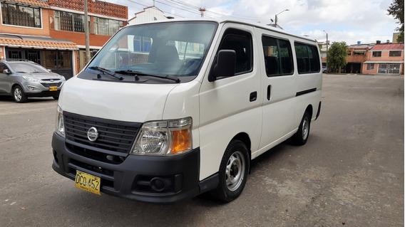 Microbus Particular Nissan Urvan 14 Pasajeros