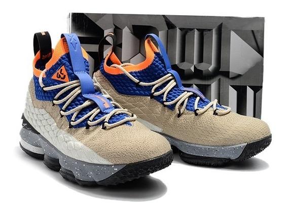 Tênis Nike Lebron 15 Shoe Musculação Esporte Original