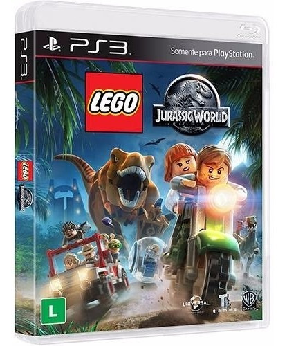 Jogo Lego Jurassic World - Playstation 3 Ps3 - Mídia Física