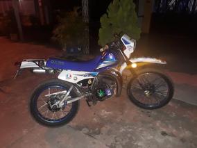 Yamaha Dt 125 Blanca, Azul.