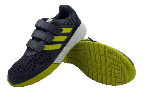 Zapatillas adidas Altarun Cf Gris Verde Running Niño Eezap
