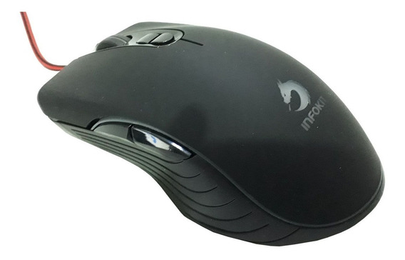 Mouse Gamer X Soldado Gm-v550 6400dpi Led 7 Cores
