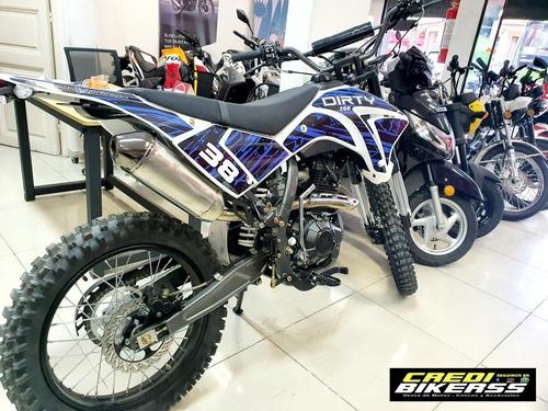 Dirty 125 200 250 Agb Crx Tz Q25 Yzf