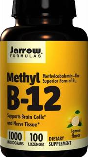 Vitamina B12 1000mcg - 100tablets Sublingual Metilcobalamina