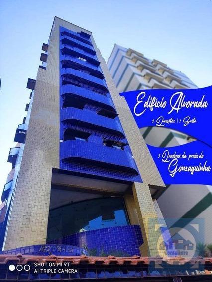 Apartamento À Venda, 92 M² Por R$ 289.000,00 - Gonzaguinha - São Vicente/sp - Ap0192