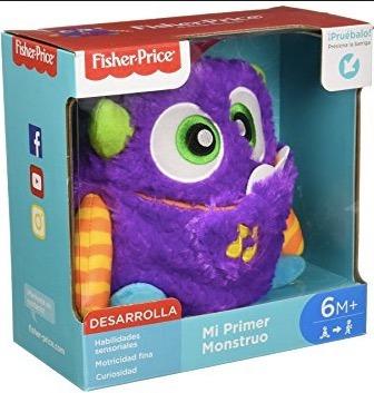Imagen 1 de 3 de Fisher Price Mi Primer Monstruo Desde 6meses Nuevo Original