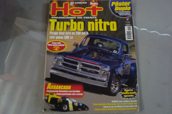Revista Oficina Mecanica 191a / Hot Turbo / Contem Posters