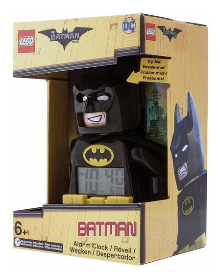 Reloj Despertador Batman Movie, Lego