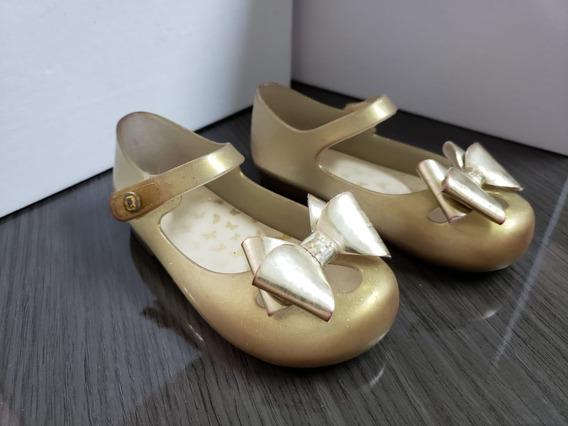 Sapatilha Dourada Pimpolho Infantil
