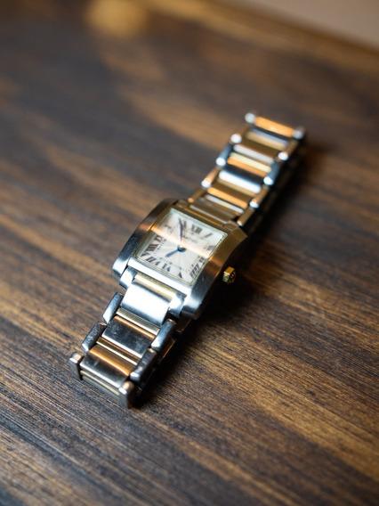 Relógio Cartier Tank Française Feminino 2301
