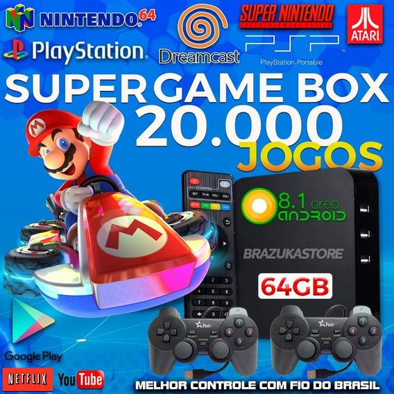 Super Game Box - Video Game Retro Multijogos Com 14500 Jogos