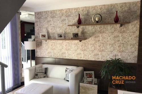 Sobrado Com 2 Dormitórios À Venda, 160 M² Por R$ 690.000,00 - Jardim Wallace Simonsen - São Bernardo Do Campo/sp - So0005