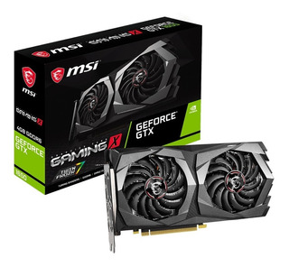 Tarjeta De Video Msi Geforce Gtx 1650 D6 Gaming X 4g Gddr6