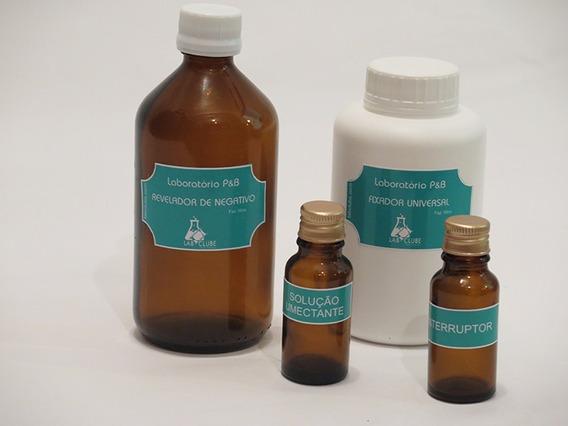 Químicos Para Negativos Preto E Branco - Revelador/fixador