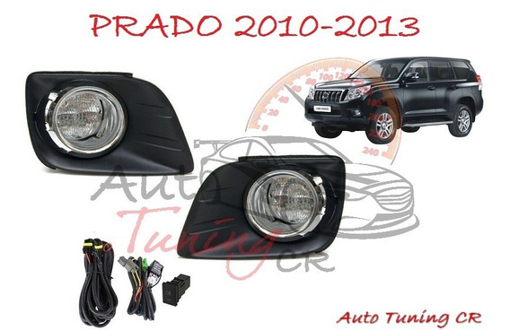 Halogenos Toyota Land Cruiser Prado 2010-2013