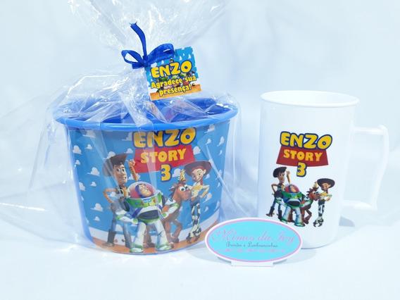 Toy Story 40uni Balde+caneca+brinde