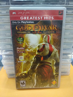 God Of War Chains Of Olympus Para Sony Psp