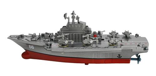 Imagen 1 de 6 de Rc Juguete Modelo Portaaviones Aircraft Carrier Regalo Para