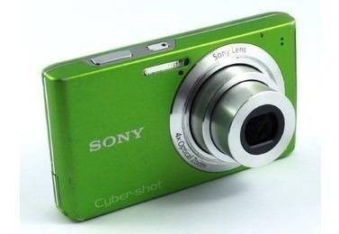 Câmera Digital Sony Cyber-shot Dsc-w530/g Verde 14.1 Mp