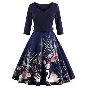b1ccb94d5 Vestidos Elegantes - Vestidos de Mujer Azul petróleo en Mercado ...