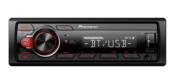 Stereo Pioneer S215bt Usb Mp3 Bluetooth Aux Desmontable 2019