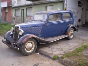 Ford 1934 Sedan 2 Puertas Muy Original