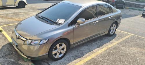 Imagem 1 de 9 de Honda Civic 2008 1.8 Lxs Flex 4p