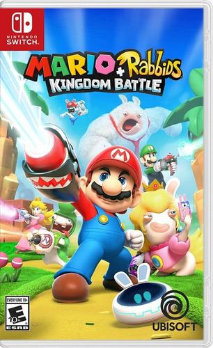 Mario + Rabbids Kingdom Battle - Nsw Fisico Nuevo & Sellado