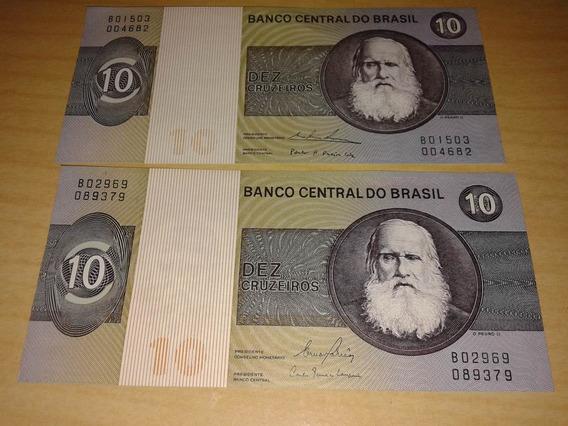 Notas Antigas De 10 Cruzeiro