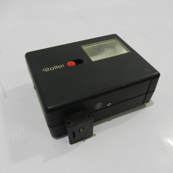 Rollei 128bc Shoe Mount Flash Câmera Vintage - No Estado