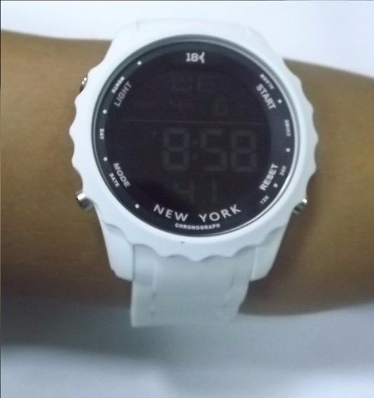 Relógio Digital Espotivo 18k Watches New York