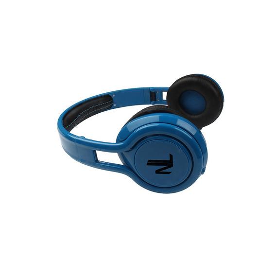 Fone De Ouvido Headphone Dobrável Energy Azul Hs111 Newlink