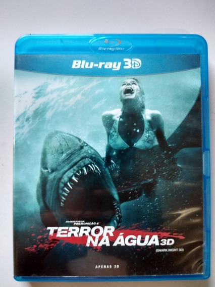 Terror Na Água Blu Ray 3d + 2d (2 Discos) Sara Paxton