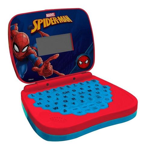Laptop Infantil Para Crianças Spider Man Vermelho Candide
