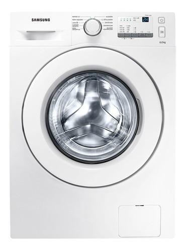Imagen 1 de 5 de Lavarropas automático Samsung WW60J3287L blanco 6kg 220V - 240V