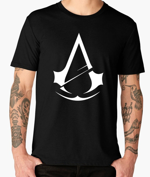 Playeras Gamers Origianles De Assassins Creed Hermosas