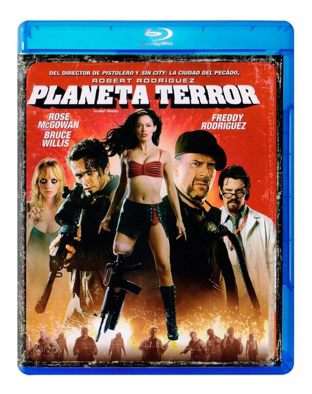 Planeta Terror Robert Rodriguez Pelicula Blu-ray