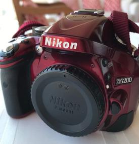 Câmera Nikon D5200 + Lente 18-55mm + Lente 55-300mm + Acess.