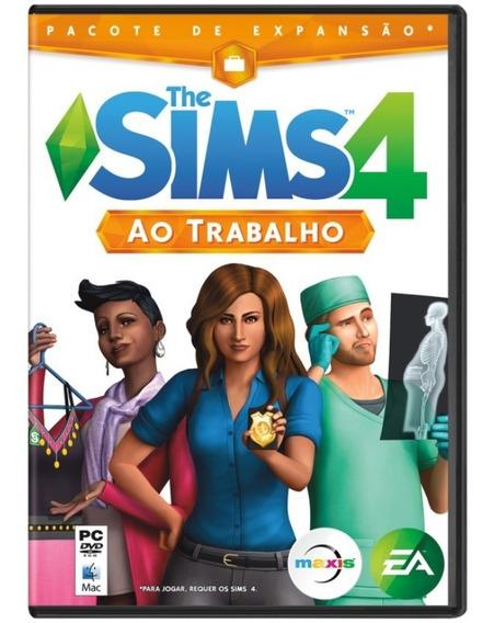 Jogo The Sims 4 Pacote De Expansão Ao Trabalho Para Pc
