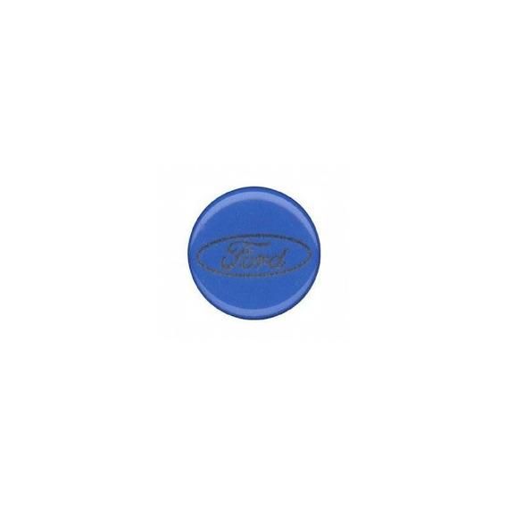 DefenderWorx 98419 Blue Ford Super Duty Kit with 13 Oval Grille Emblem and 9 Tailgate Emblem