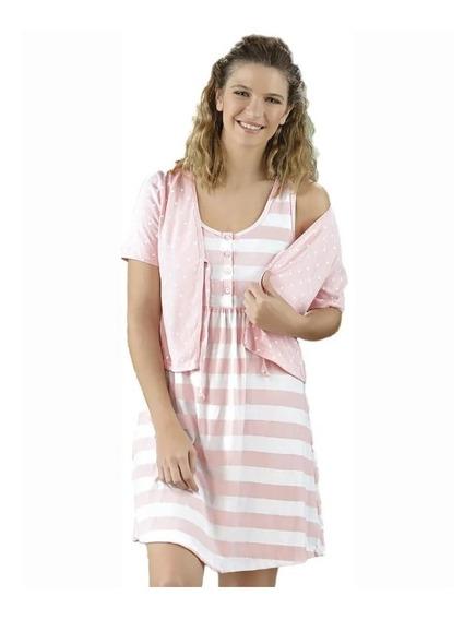 Camisón Mujer Maternal C/mañanita Lencatex 20821