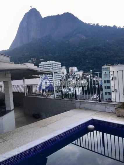 Cobertura À Venda, 6 Quartos, 2 Vagas, Humaitá - Rio De Janeiro/rj - 1018